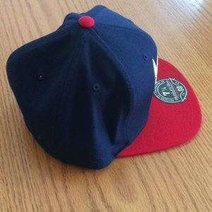 buy online 25d1e 3cd5e Mitchell   Ness Accessories - Chicago Bulls Mitchell   Ness Fitted Hat